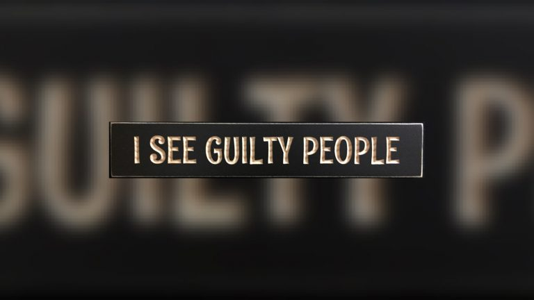 I see Guilty People